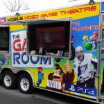 mobile video game theatre