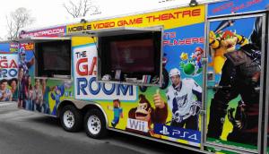 mobile video game theatre